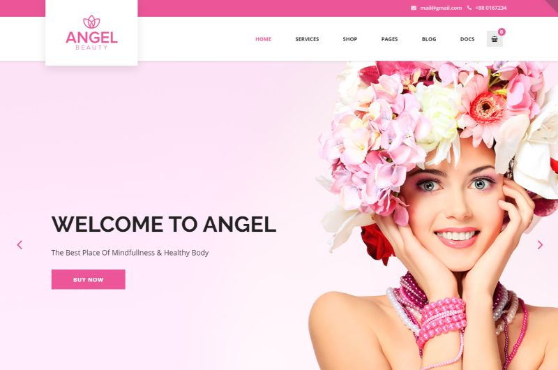 Angel WordPress Fashion Theme