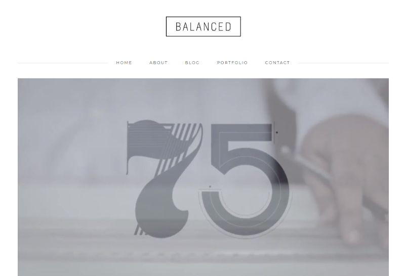 Balanced WordPress Business Theme