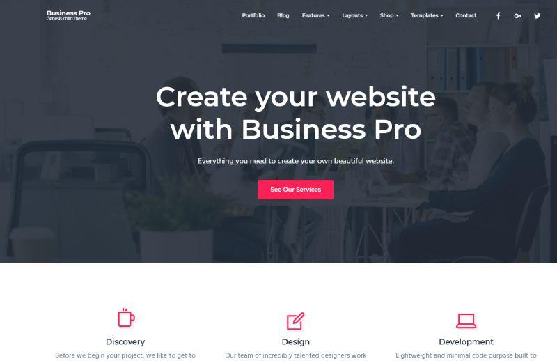 Business Pro WordPress Business Theme