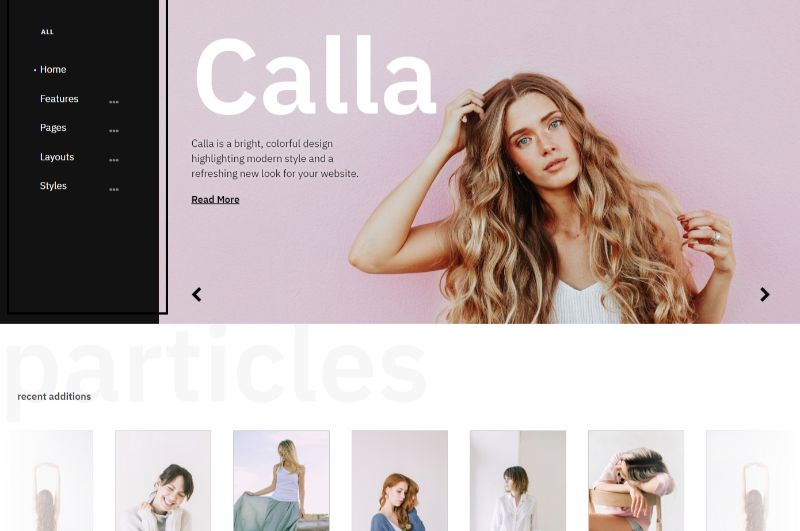 Calla WordPress Fashion Theme