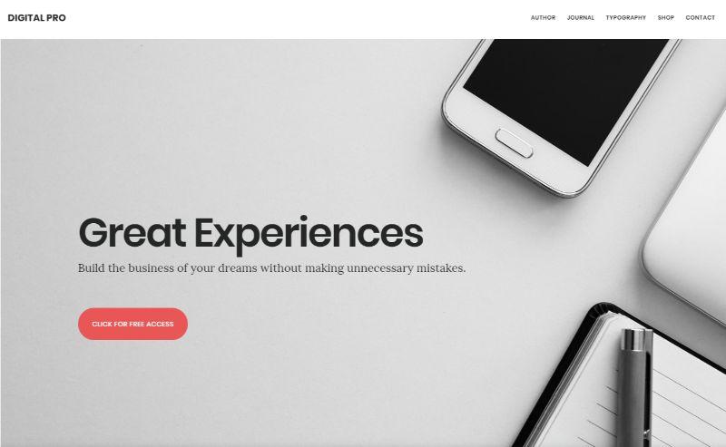 Digital Pro WordPress Business Theme