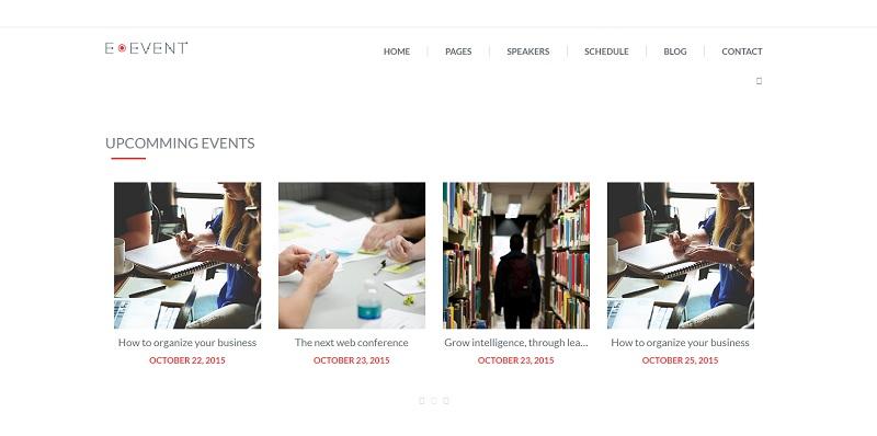 E-Event WordPress Event Theme