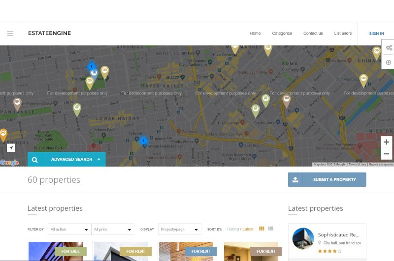 EstateEngine Real Estate WordPress Theme