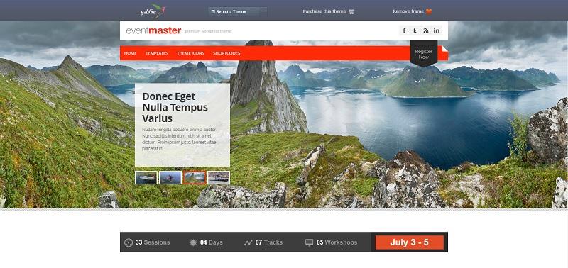 Event Master WordPress Event Theme