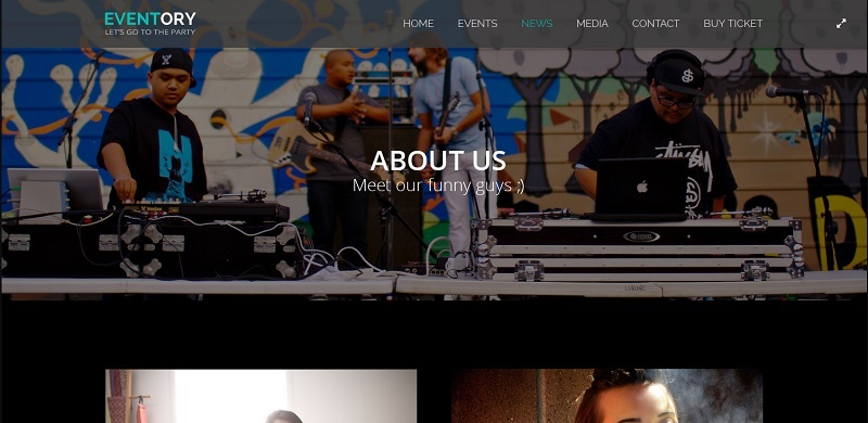 Eventory WordPress Event Theme
