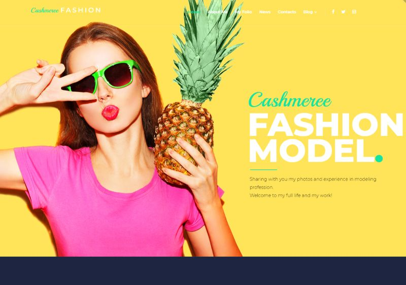 Fashion WordPress Fashion Theme
