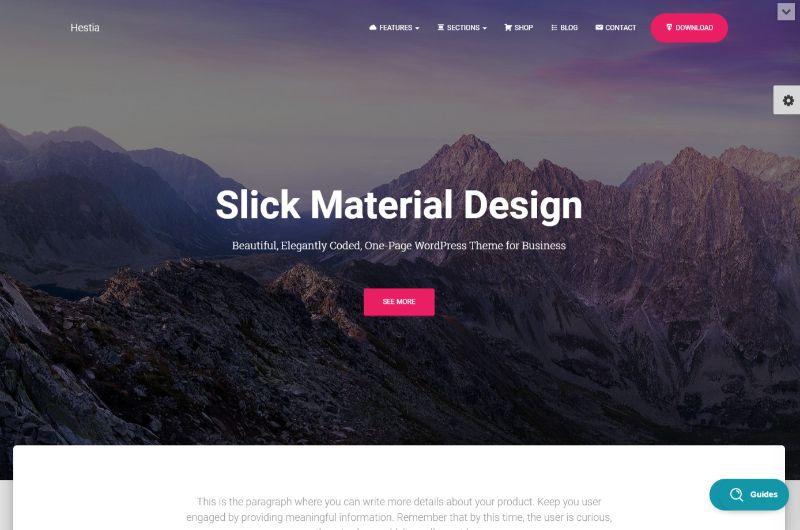 Hestia Pro WordPress Business Theme
