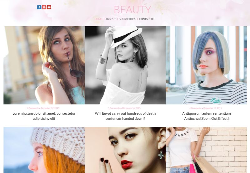 Lifestyle WordPress Fashion Theme