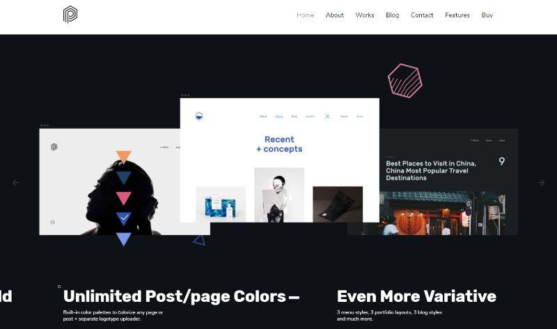 Plate Portfolio WordPress Theme