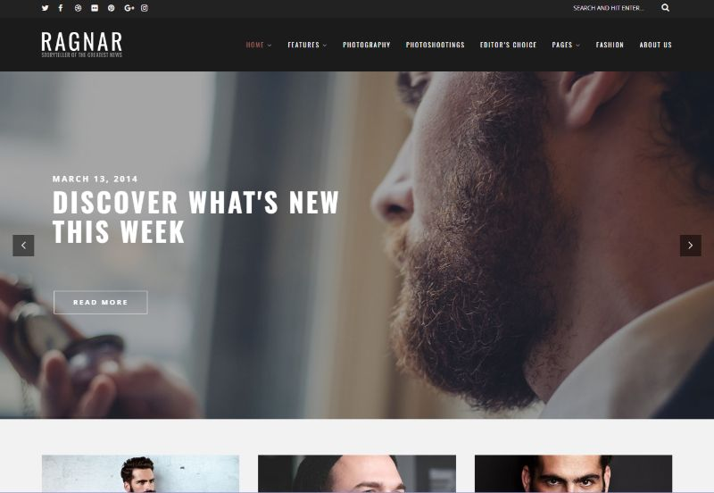 ragnar-creative-wordpress-theme