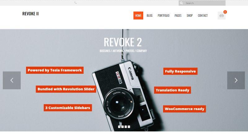 Revoke 2 WordPress Business Theme