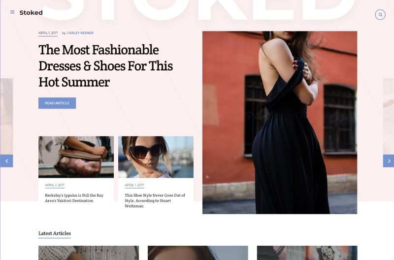 Stocked WordPress Fashion Theme