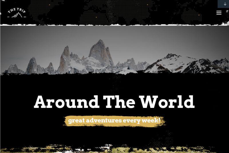 The Trip WordPress travel theme