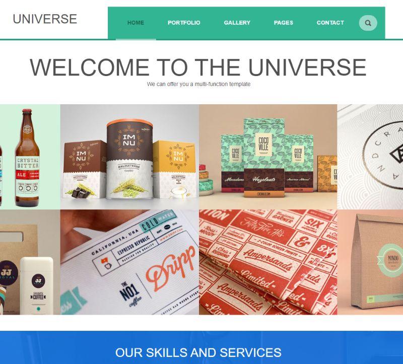 Universe WordPress Business Theme