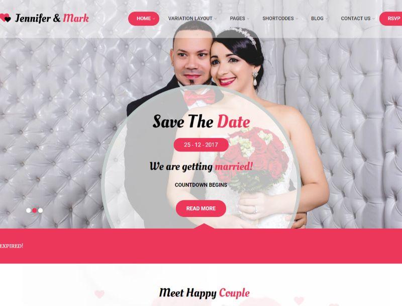 Wedding Rituals WordPress Wedding Theme