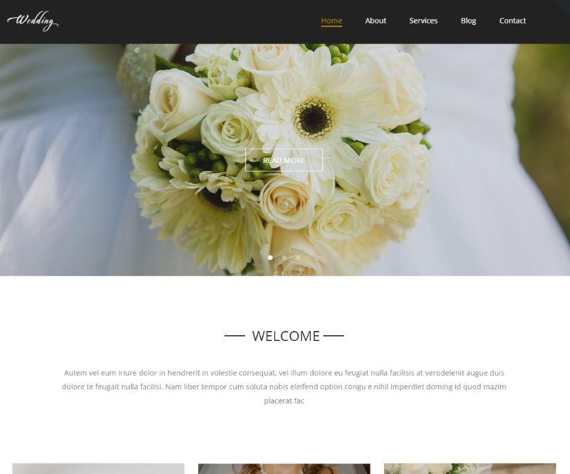 Wedding WordPress Wedding Theme