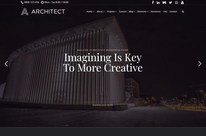Architecture Template by VisualModo