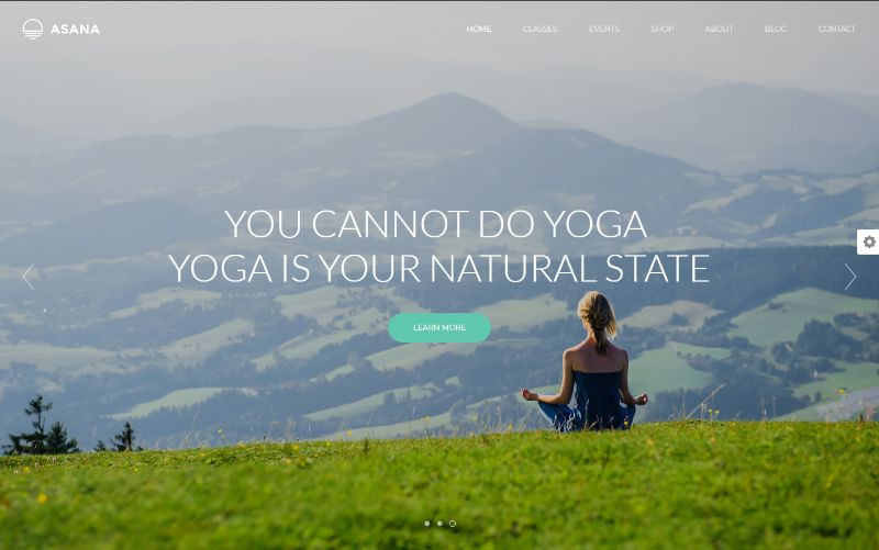 Asana Sports WordPress Theme