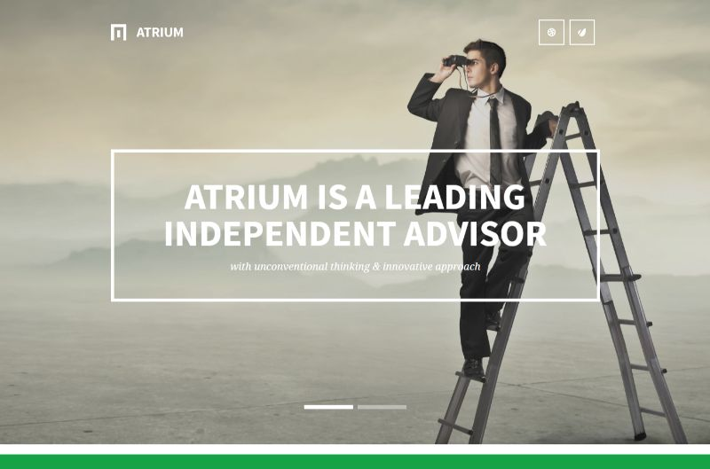 Atrium Consulting WordPress Theme