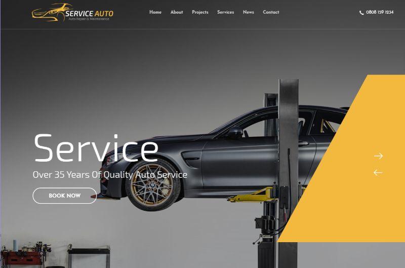 Car Services Theme by Hogash