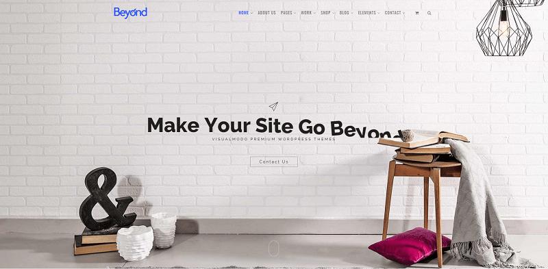 Beyond Multipurpose WordPress Theme
