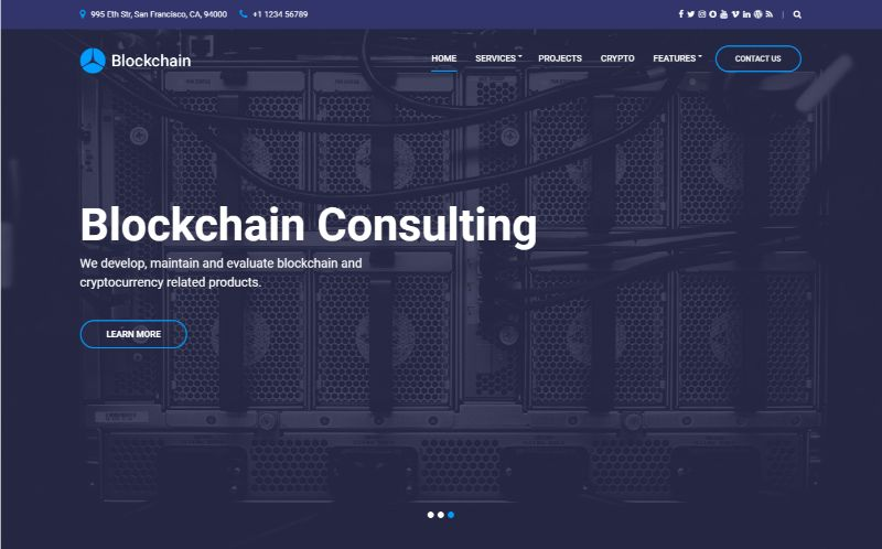 Cssgniter Bitcoin Cryptocurrency WordPress Theme