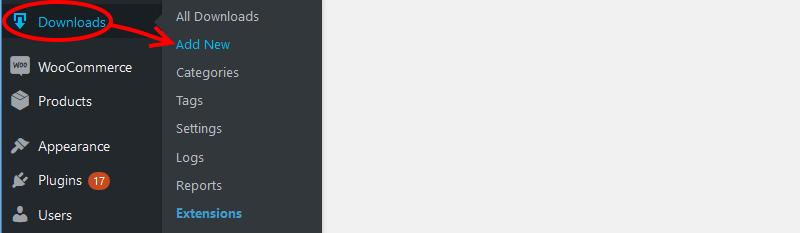Download Monitor WordPress Plugin Add New Downloads