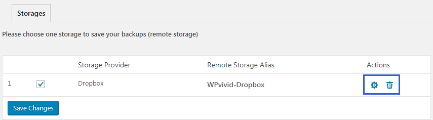 Dropbox is added in the cloud storage list