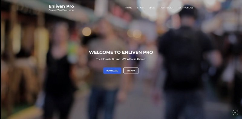 Enliven Multipurpose WordPress Theme