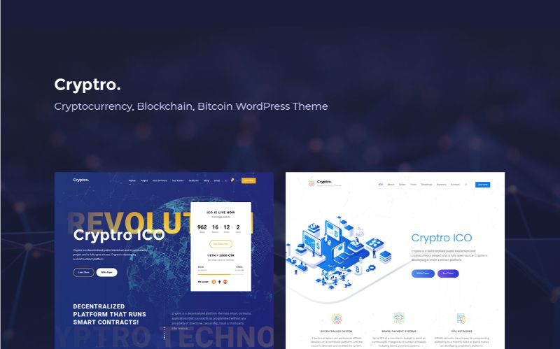 Goodlayers Bitcoin Cryptocurrency WordPress Theme