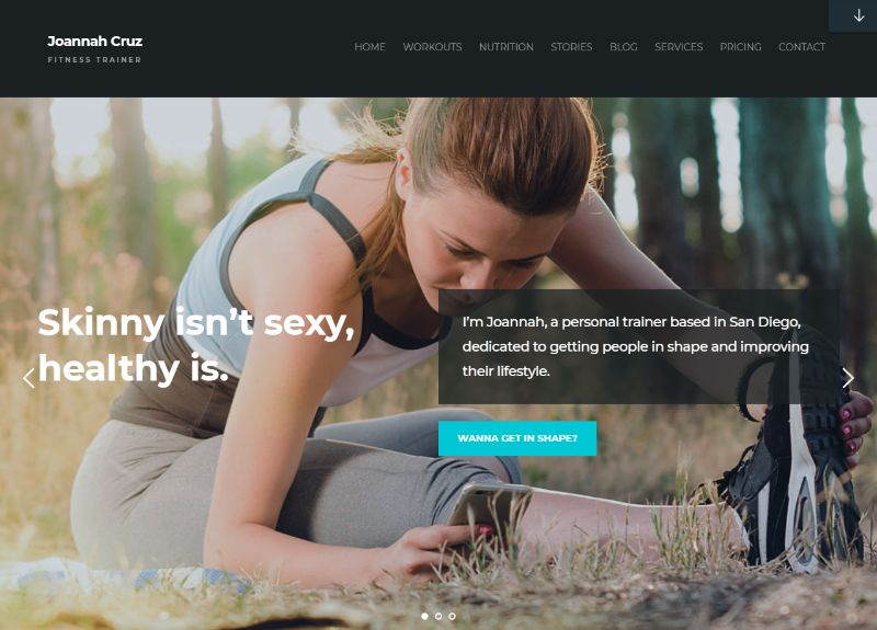 In Shape Fitness WordPress Theme