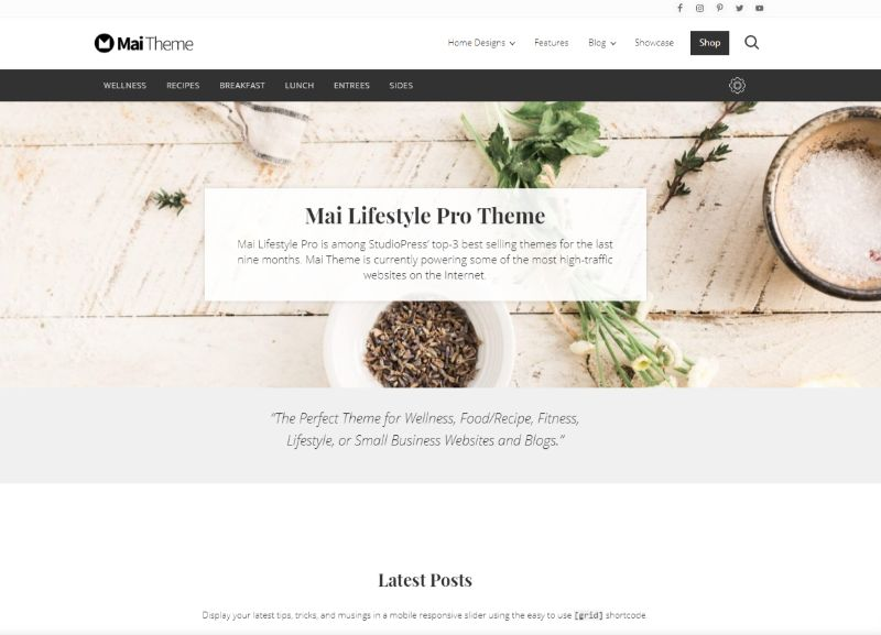 Mai Lifestyle Pro WordPress Theme