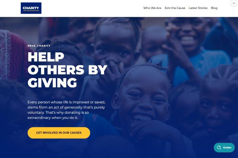 Neve WordPress Charity Theme
