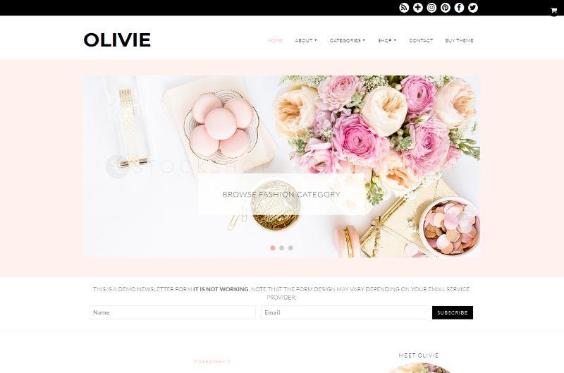 Olivie Lifestyle WordPress Theme
