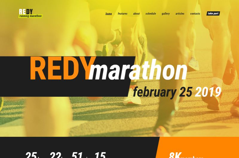 Redy Sports WordPress Theme