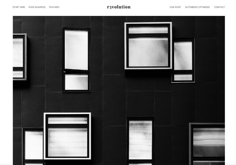Revolution Pro WordPress Minimalist Theme