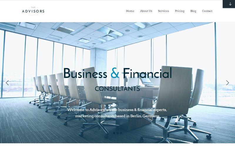 The Advisors Consulting WordPress Theme