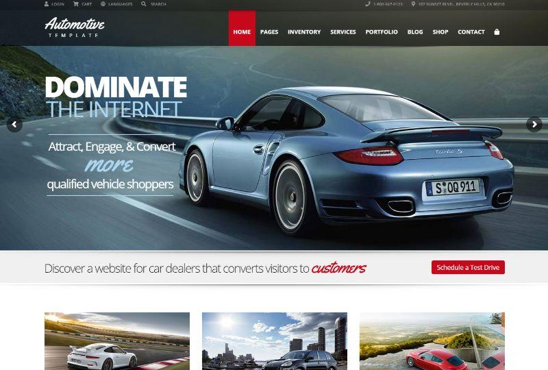 ThemeSuite Automotive WordPress Theme