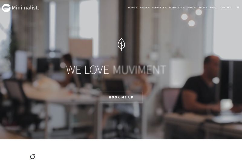 Visualmodo WordPress Minimalist Theme