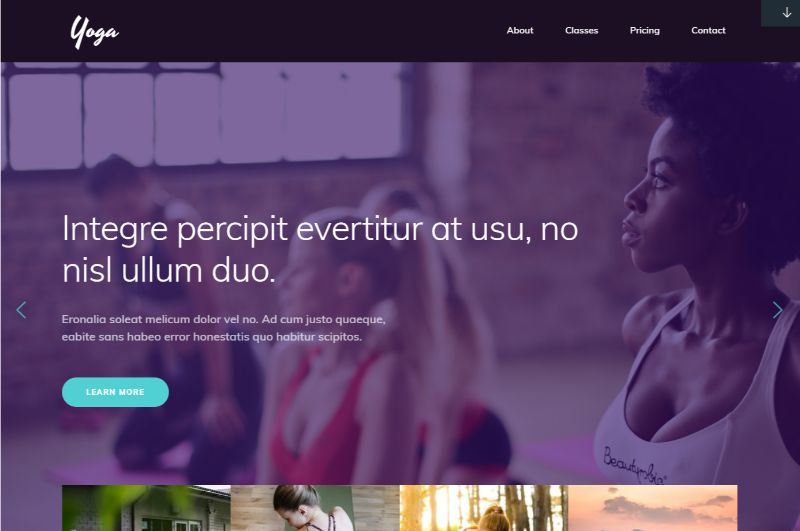 Yoga Sports WordPress Theme