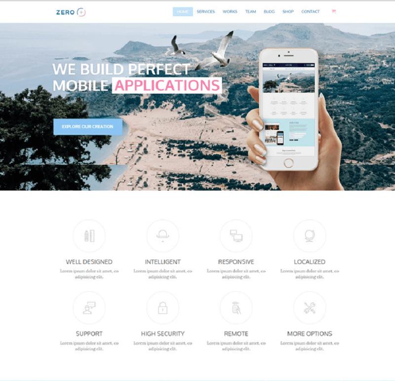 Zero Multipurpose WordPress Theme
