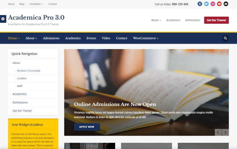 12  best education wordpress themes for schools  colleges