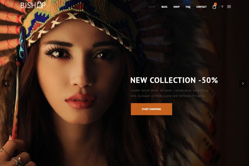 Bishop eCommerce WordPress plugin