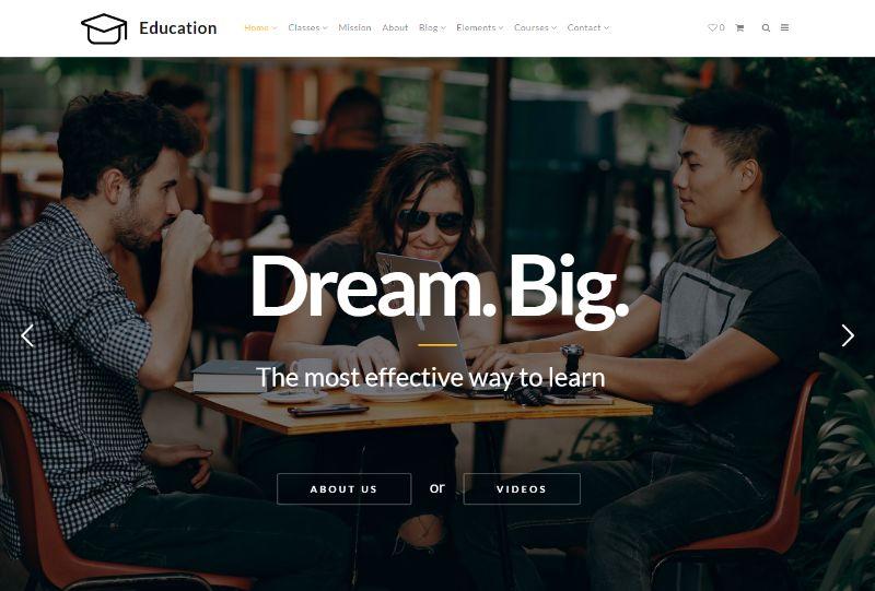 Education WordPress theme by VisualModo