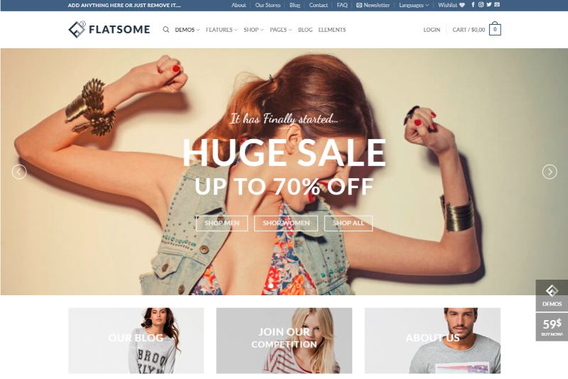 Flatsome eCommerce WordPress plugin