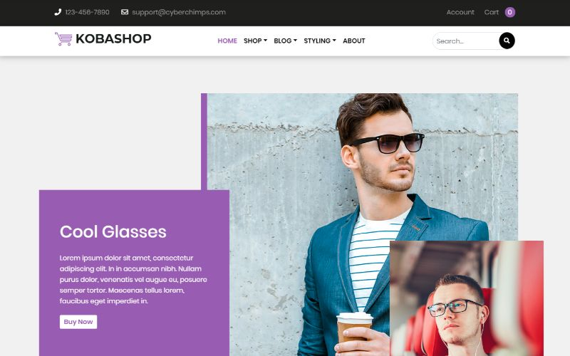 Kobashop eCommerce WordPress plugin