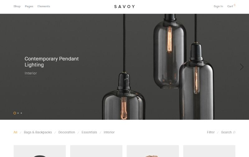 Savoy eCommerce WordPress plugin