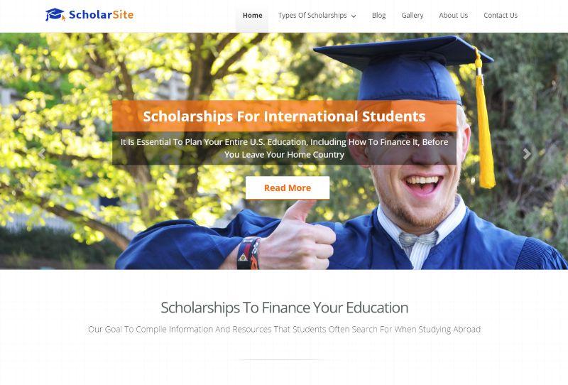 ScholarSite education WordPress theme