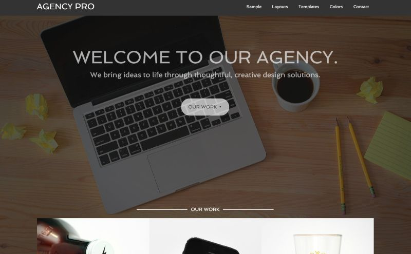 Agency Pro Agency WordPress Theme