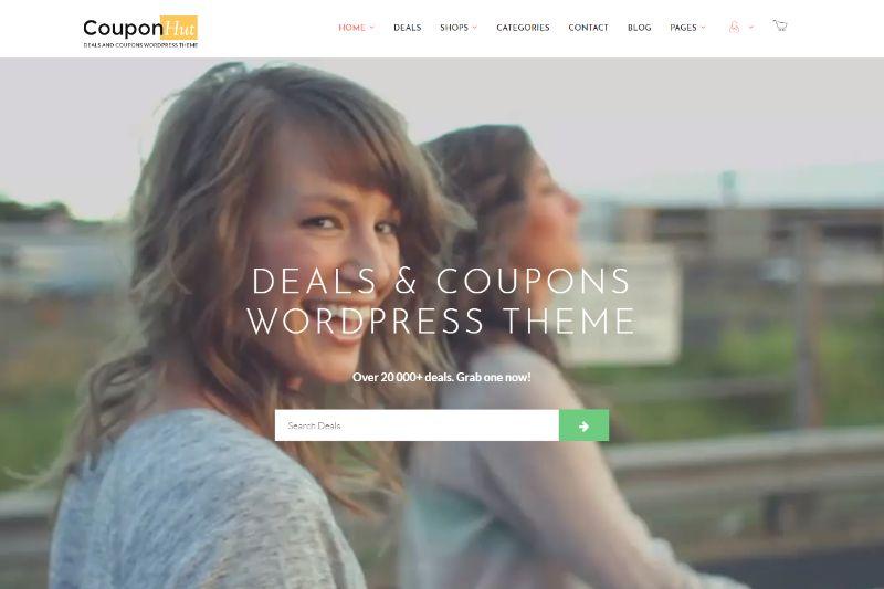 Coupohut Coupon WordPress Theme